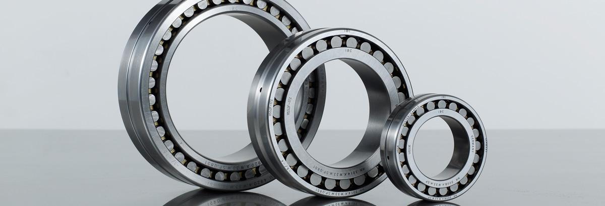 Warehouse space roller bearings